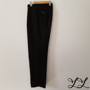 Loro Piana Pants Brown Corduroy Made in Italy Soft